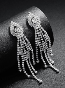 Nice Chain Earrings Crystal Drop Earring for Women
