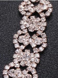 Stylish/Elegant Alloy Sash with Crystal