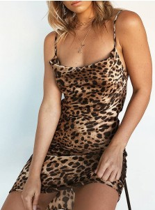 Short Party Dresses Leopard Dress