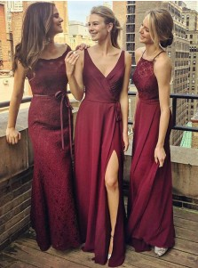 Cheap Grape Bridesmaid Dresses Under 50 Dollars