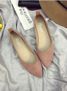 Blush Pink Pump Plat Heel Prom Dance Shoes