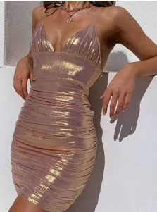 Glitter Party Dress Tight Cocktail Dresses