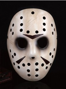 Terrible Ghost Hole Face Jason Deluxe Latex Mask Mask Halloween