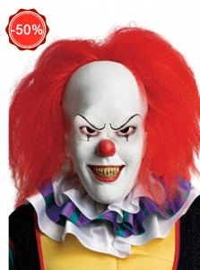 Stephen Kings It Pennywise Cosplay Halloween Mask