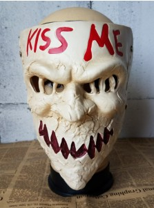 The Purge Movie Anarchy Election Year Kiss Me mask Halloween Masquerade Party