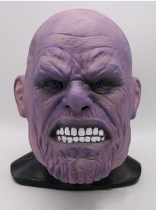 Avengers: Infinity War Thanos Cos Full Mask Halloween Party
