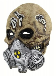 Creepy Latex Halloween Masks Biochemical Scary Halloween Mask