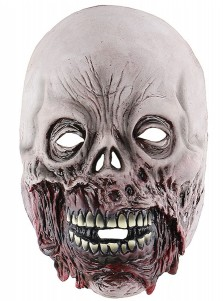 Really Scary Halloween Masks Creepy Face Adult Grey Halloween Masks