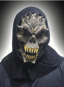 Super Scary Halloween Masks Honor Monster Mask with Horns