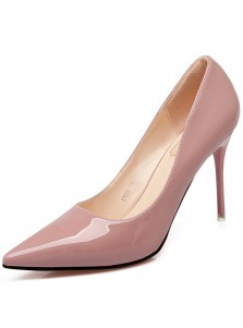 Pink Pointy Toe Stiletto Heel Pumps