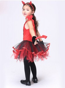 Halloween Children's Costume Anime Cosplay Performance Dress