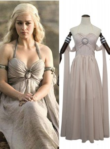Game of Thrones Mother of Dragons Daenerys Targaryen Cosplay Costume