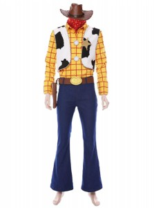 Disney Pixar Toy Story 4 Woody Cosplay Costume