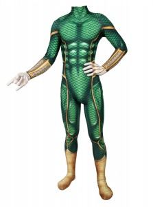Spider-Man Far From Home Bodysuit Ver Green Cosplay Costume