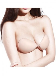 Sexy Women Ultralite Backless Strapless Silicone Push-Up Reusable Bra