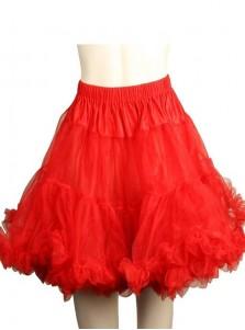 Red Short Dress Slip Coco Dress Leg Avenue Petticoat