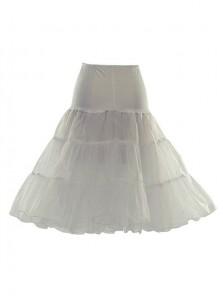 Red Short Flare Slip Women Prince Dress Petticoats/Underskirt