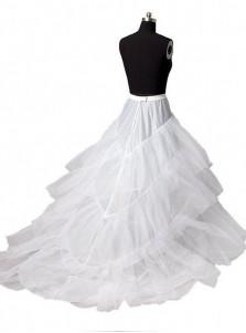 White Women Petticoat Mermaid For Wedding Dress Bridal Crinoline