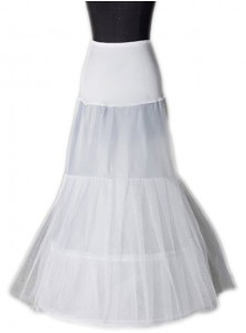 Hot Sale 2 Hoops Petticoat for Trumpet Mermaid Wedding Dress