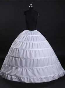 Plus Size White Sexy Layers Wedding Dress Petticoats