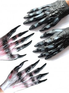 Werewolf Paws Claws Halloween Costume Gloves Costume Accessory