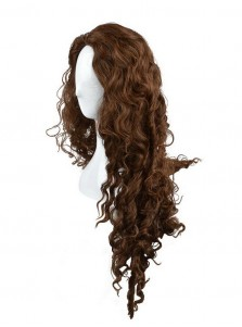 Hot-Selling Halloween Wigs Brown Witch Curly Hair Wigs Party