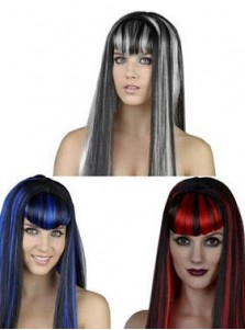 Long Straight Cosplay Wigs Halloween Party