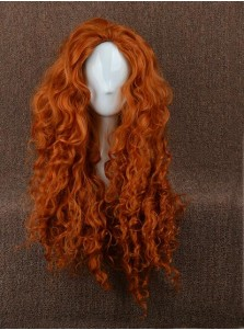 Brave Brave Merida Orange Large Wigs