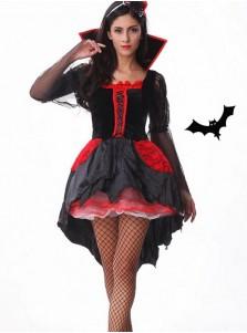 Scary Vampire Costume Women's Halloween Cosplay