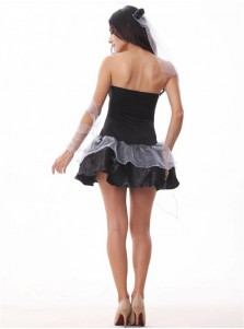 Sexy Vampire Short Dresses Halloween Costume For Women