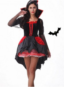 Womens Sexy Midnight Mistress Vampire Costume