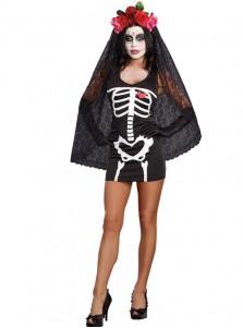 New style Corpse Bride Halloween Cosplay Costume