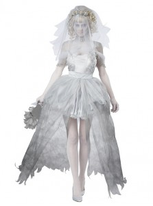 Ghost Bride Halloween Costumes For Women