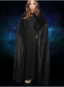 Halloween Costumes Cloak Hooded Death Cloak Magician Witch Cloak Masquerade Party Performance Clothes For Women