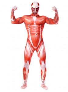 Halloween Costume Hot Anime Attack on Titan Cosplay Accessory for Adults Spandex Jumpsuits