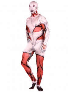 Halloween Costume Hot Anime Attack on Titan Cosplay Accessory Zentai Suit for Adults Spandex Jumpsuits