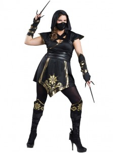 Elite Ninja New Style Black With Gold Plus Size Halloween Costume ...  sc 1 st  Simple-dress.com & Cheap Video Game Cosplay Costumes Game of Thrones Cosplay Online ...