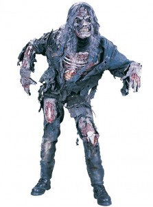 Scary Complete 3-D Zombie Teen Halloween Costume Corpse Custome