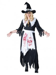Vampire Depool Halloween Costumes Adult Scary Demon Evil Black Costumes