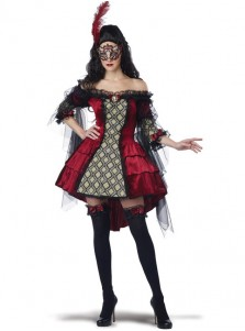 Scary Off The Shoulder A-line Halloween Custome For Women