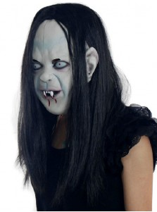 Japanese Ghost Monster Evil Costume Halloween Party Mask