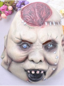 Burst Brain Face Mask Cosplay Halloween Party Mask