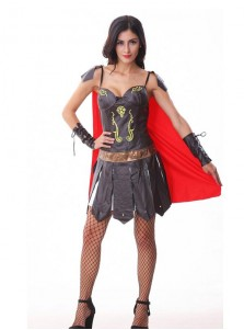 Women Sexy Greek Goddess Skirt Halloween Costumes Role Playing Costumes Spain Gladiator