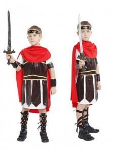 Roman Soldier Cosplay for Boys Halloween Carnival Cosplay Costumes