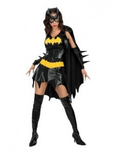 Hot-selling Sexy Batgirl Costume for Women