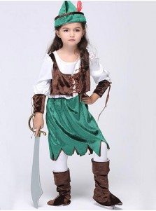 Kid's performance clothing Halloween costumes