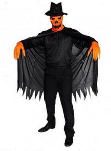 Halloween Horror Black Blame Cosplay Pumpkin