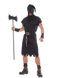 Executioner Medieval Warrior Renaissance Halloween Adult Party Men Fancy Costume