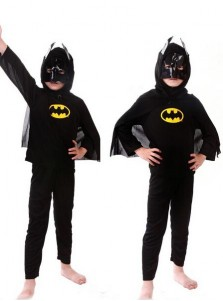 Party Polyester Suit Kids Batman