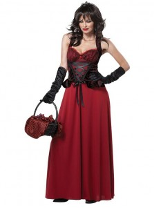 Christmas Halloween Costume Dress Little Red Riding Hood Vampire